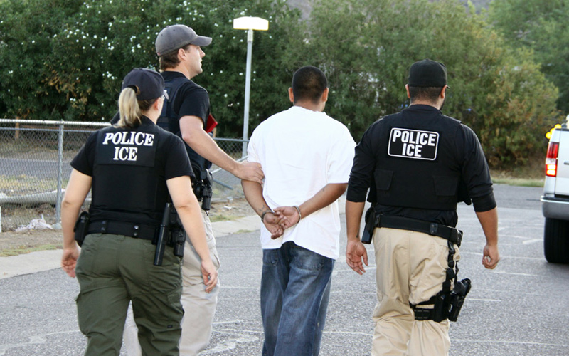ICE Arrest 212 Illegals In Los Angeles: 122 Businesses Targeted