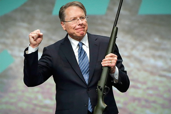 "NRA VP Wayne LaPierre Says  Liberals ""Don't Care One Wit About School Children"""