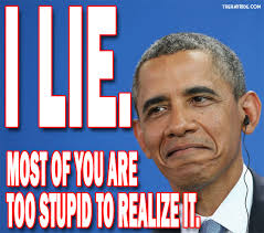 "Lying Obama Says ""We Didn't Have a Scandal that Embarrassed Us"" In My Presidency"