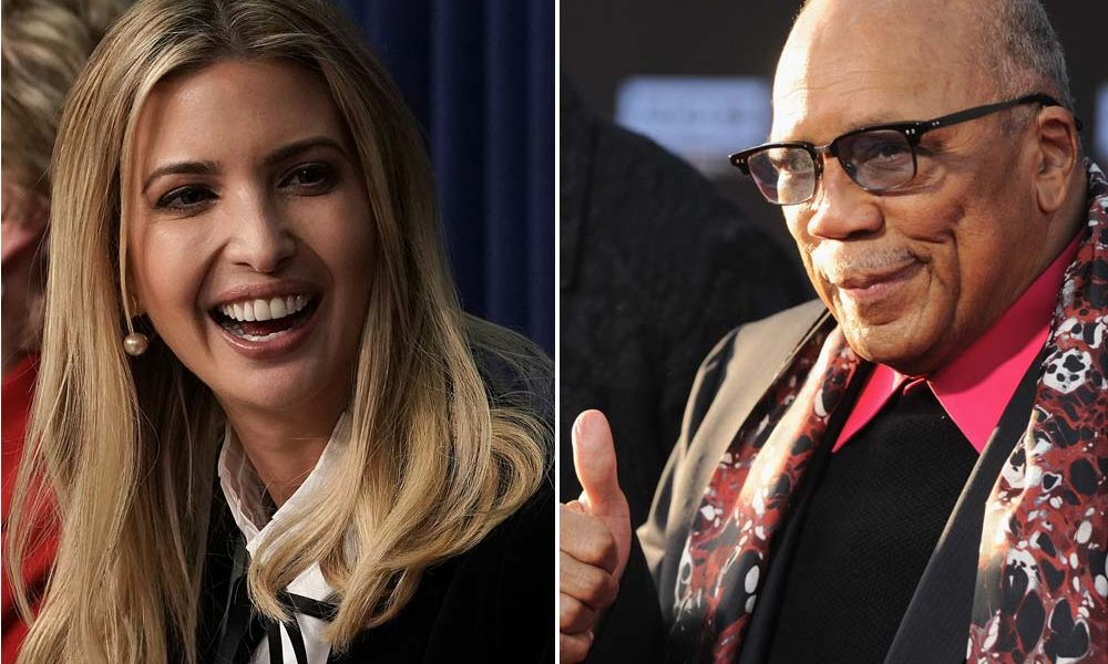 Quincy Jones Calls Donald and Ivanka MotherFu*kers
