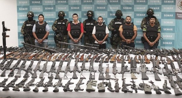 Mexican Cartel Is Stockpiling Military Weapons In Mexican Border City: Thank Erick Holder And Obama