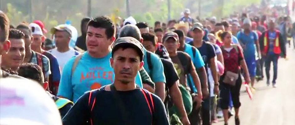 Caravan Of Illegal Invaders Headed To America Thru Mexico
