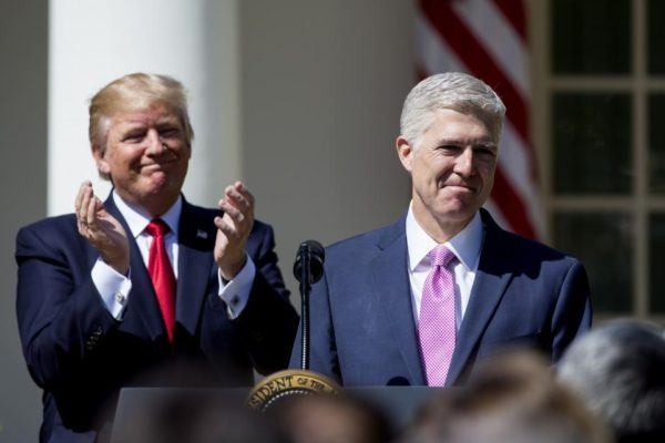 Justice Neil Gorsuch Sides With Liberals, and Illegals To Make Deportations Harder