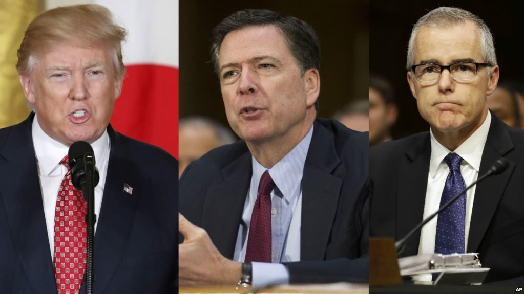 Donald Trump Goes On The Attack To James Comey and Andrew McCabe