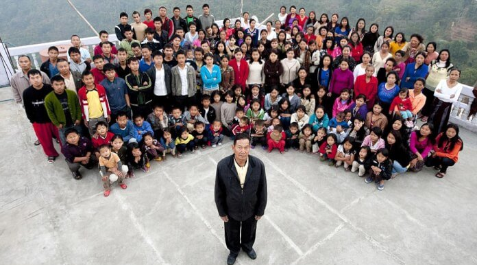 1 Man Has 39 Wives and 94 Children