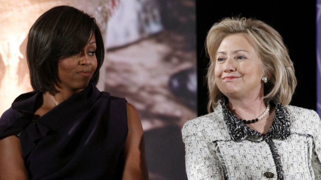 Hillary Clinton And Michelle Obama Say Woman Are To Stupid To Vote For Successful Women