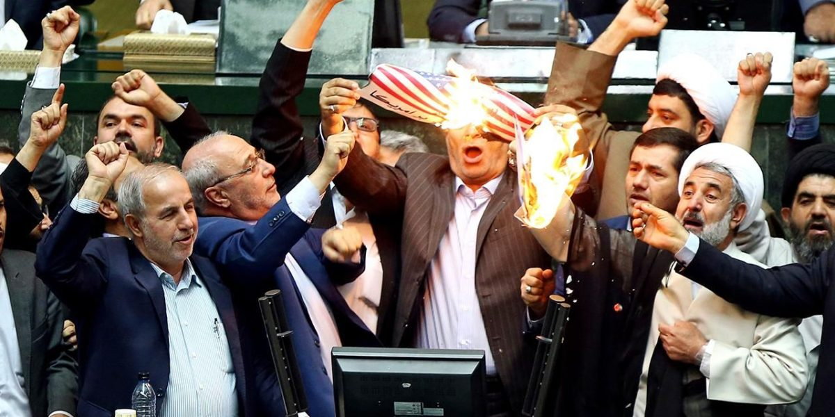 Iran Screams Death To America After Nuclear Withdrawal