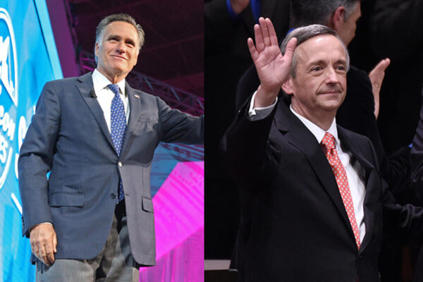 Mitt Romney Upset At Robert Jeffress For Preaching The REAL Gospel At Jerusalem Embassy Opening