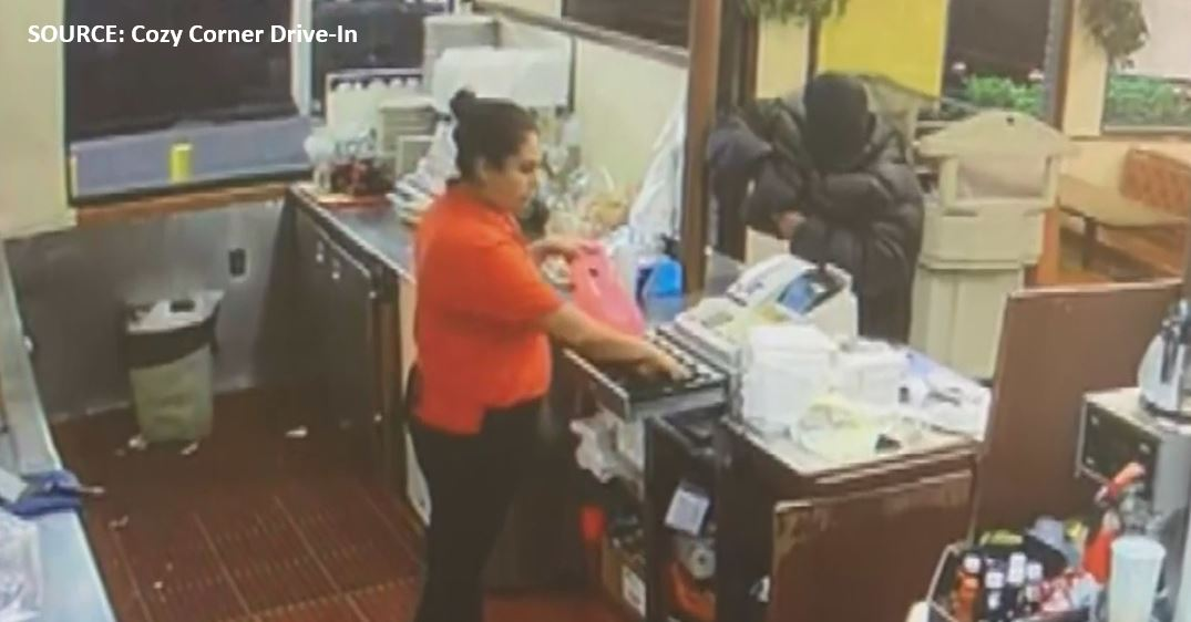 A Drive-Thru Customer Shoots, Wounds Robbery Suspect In California