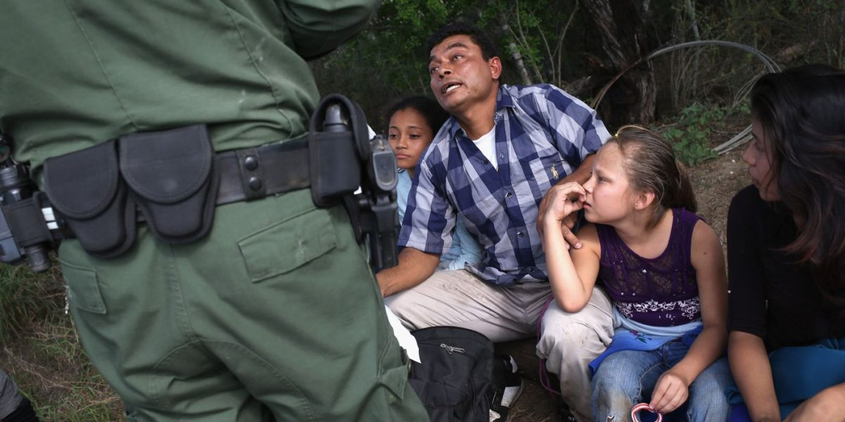 Liberals Silent As 7-Year-Old Unaccompanied Migrant Found with Smuggler in Texas