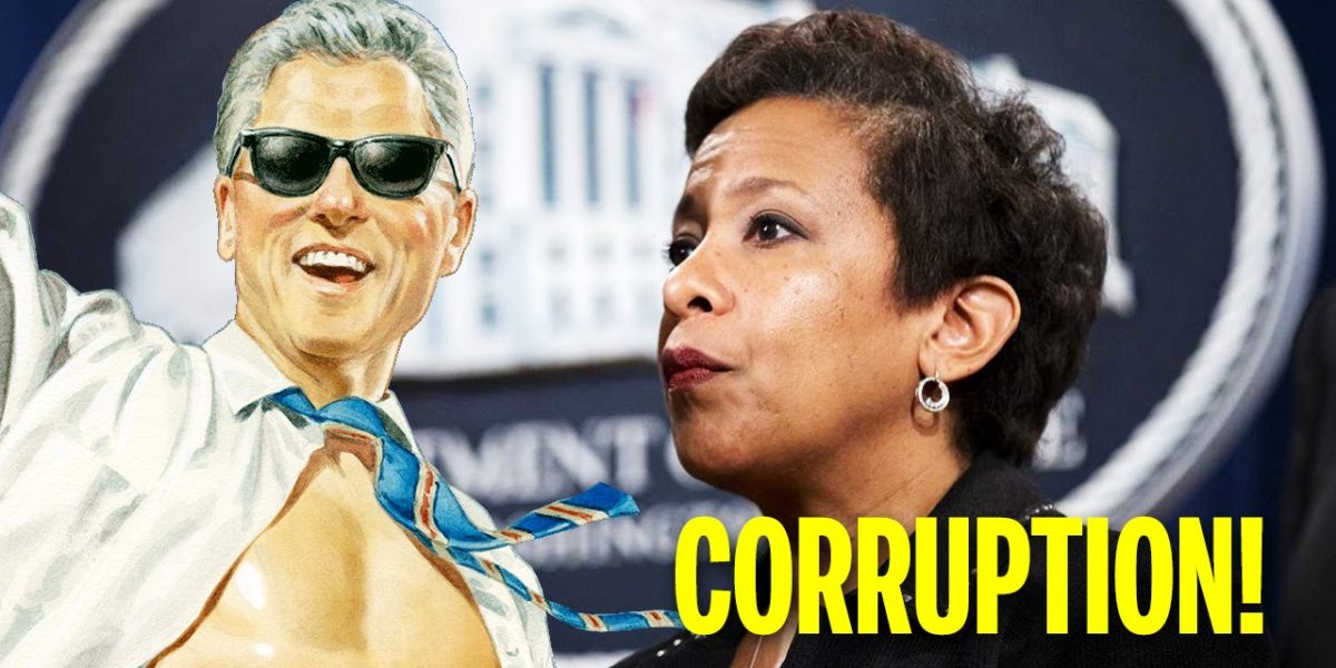 Did Loretta Lynch Promises Bill And Hillary Clinton Not To Let The FBI Go To Far?