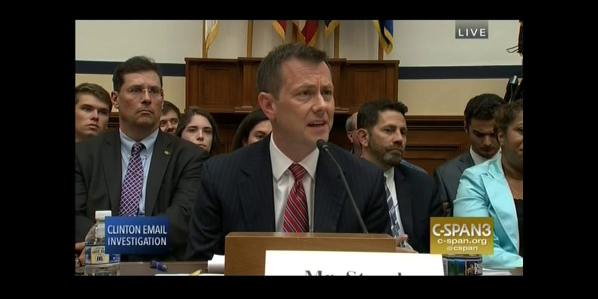 FBI's Peter Strzok Lies Under Oak And Acts Arrogant During Testimony