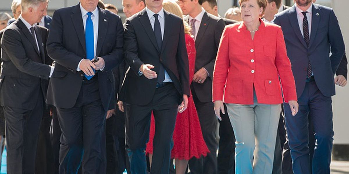 Trump Bitch Slaps Germany At The NATO Visit: Says That Russia Is Controlling Their Country