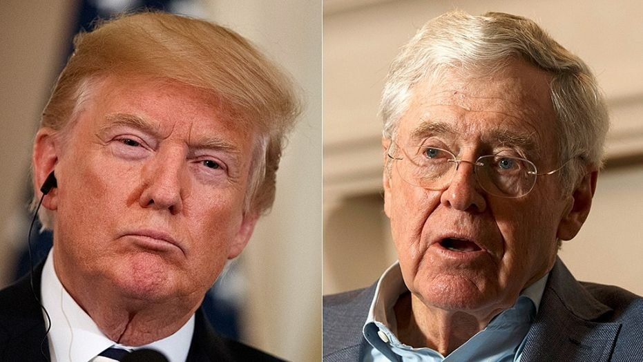 President Trump Mocks The Globalist Koch Brothers: Says They Are A 'Total Joke