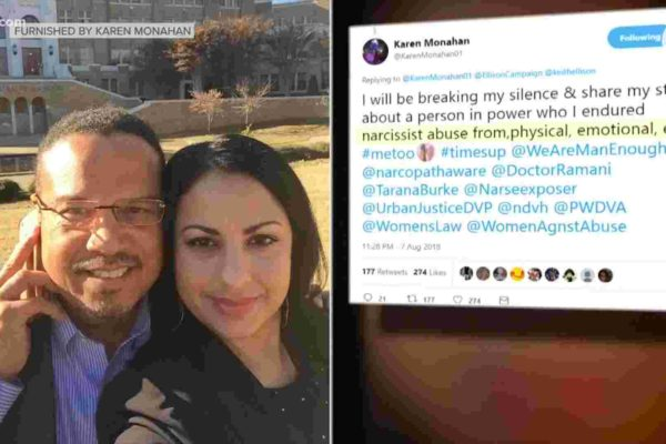 Keith Ellison's Ex-Girlfriend And Son Accuse Him Of Domestic Abuse And The Media Is Silent