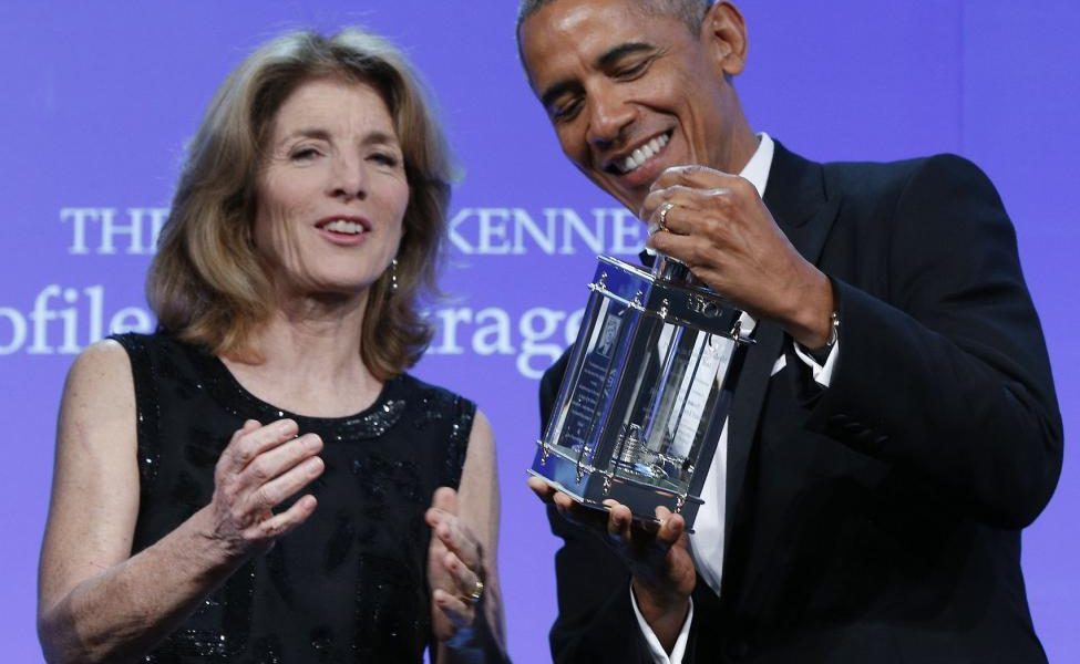 Fraud Obama Wins The Rights Ripple Of Hope Peace Prize Award