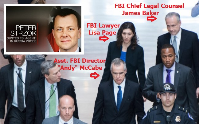 Corrupt FBI Peter Strzok Has Been Fired