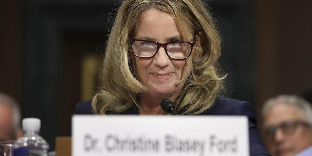 Christine Blasey Ford Caught Lying About  Fears Flying