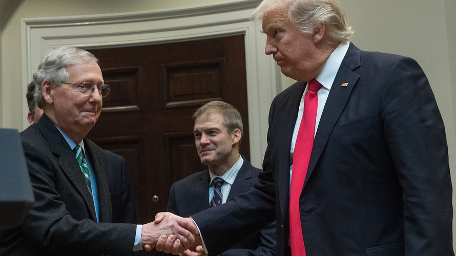 MCCONNELL Tells TRUMP, 'I'M STRONGER THAN MULE PISS' ON KAVANAUGH