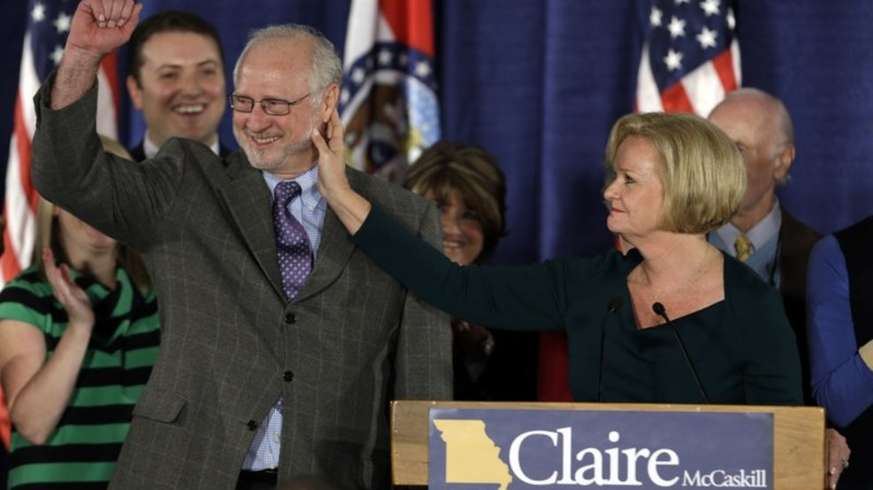 Missouri Sen. Claire McCaskill's husband was accused of domestic violence by his ex-wife. Victims MUST be believed right?