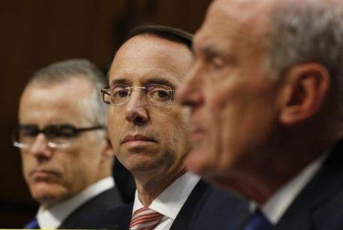 Former FBI Lawyer Told Congress That Rod Rosenstein Discussed Wearing A Wire To Record Trump