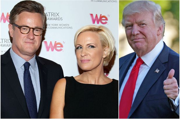 Idiot Joe Scarborough Says Trump's Been Playing the Racist Card, And He Is Like Hitler