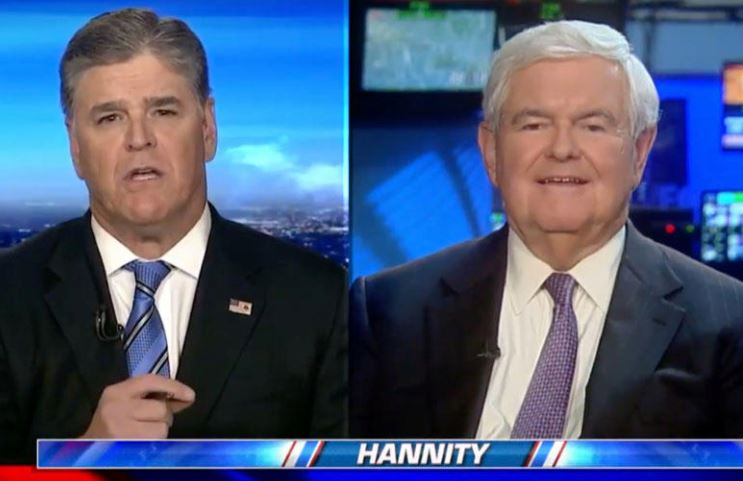 Newt Gingrich Says Bob Mueller's So-called Russian Investigation Is A Trump Destruction Project