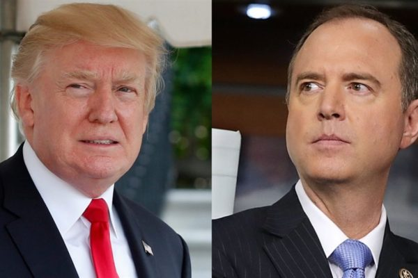 Adam Schiff Thinks That Trump May Face Jail Time, But Not Comey or Hillary