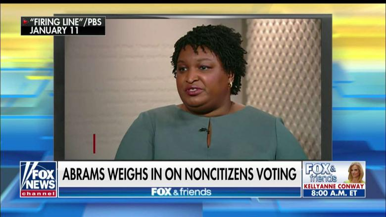 Defeated Georgia Gubernatorial Candidate Stacey Abrams Said She Would Not Oppose Non-Citizens Voting In U.S. Elections