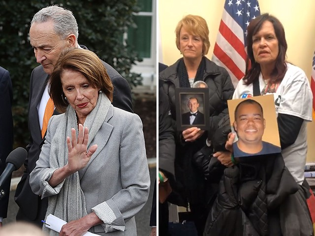 Families Of Victims Caused By Illegal Immigration Crimes Storm Nancy Pelosi's Office