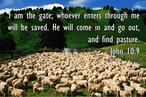 Jesus Is The Gateway Into Heaven And If You Don't Come In By That Door You Will Never Enter