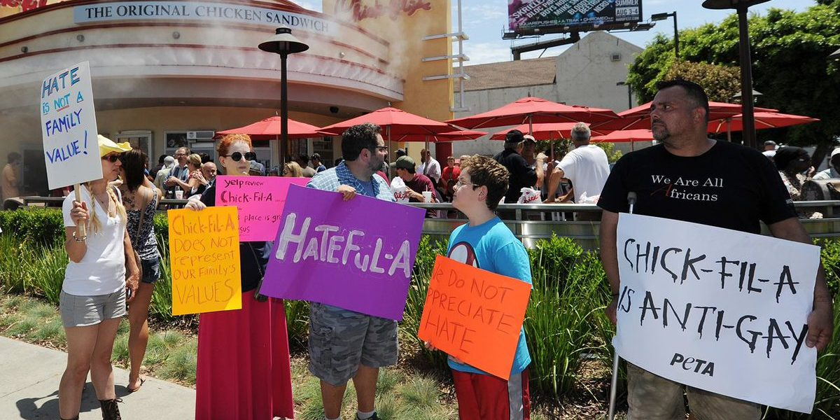Chick-Fil-A Banned From San Antonio Airport Because Of The Gay Mafia LGBTQ
