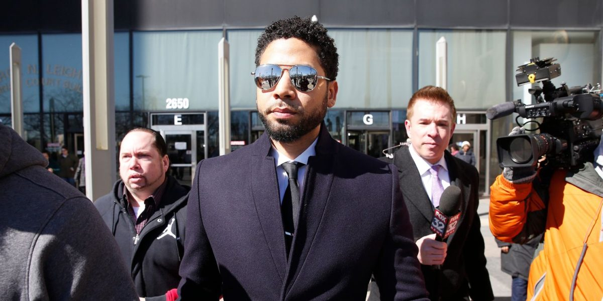 Lying Jussie Smollett Says He Was 'Truthful on Every Level Since Day One'