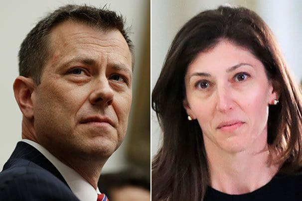 The DOJ Let Corrupt Peter Strzok Deleted Communication With Lisa Page