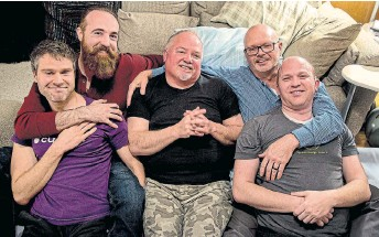 Men's Cuddling Group Proves That The Gay Mafia Has Taken Over