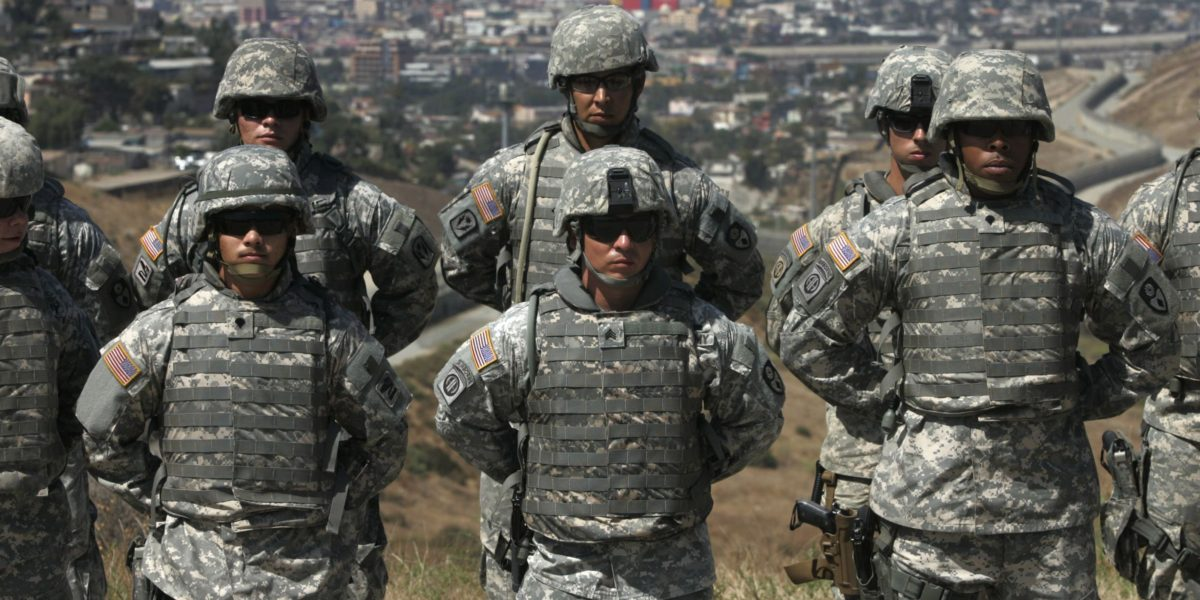 Mexican Troops Have Disarmed American Soldiers On American Soil At The  Border