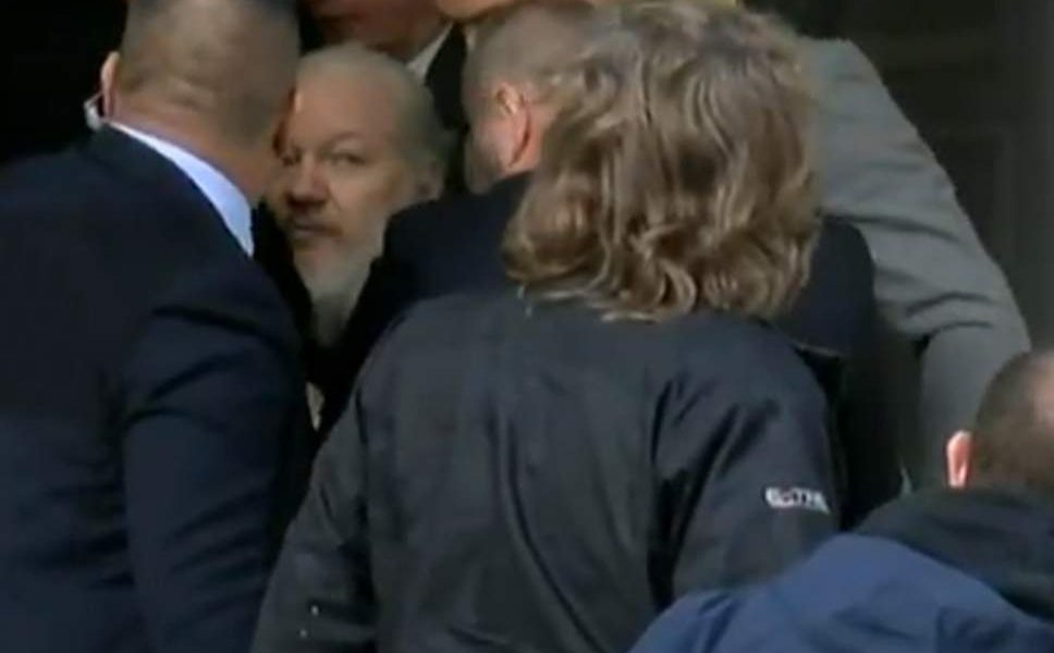 WikiLeaks Julian Assange Has Been Arrested By British After US Pressure