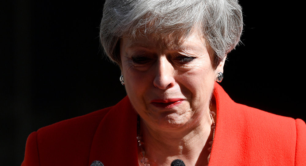 Prime Minister Theresa May Resigned Because Of Brexit Failure