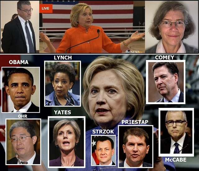 DOJ Bruce Ohr Got Bonus During Fake Russian-Gate, And FBI Destroyed Clinton Email Notes