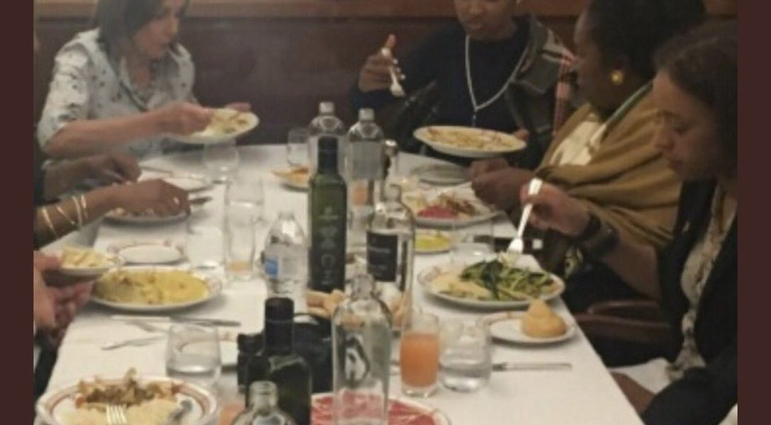 Pelosi, Omar, and Sheila Jackson Lee Partying In Italy With Democrats At Luxury Restaurants, While There District's Are Shit-holes