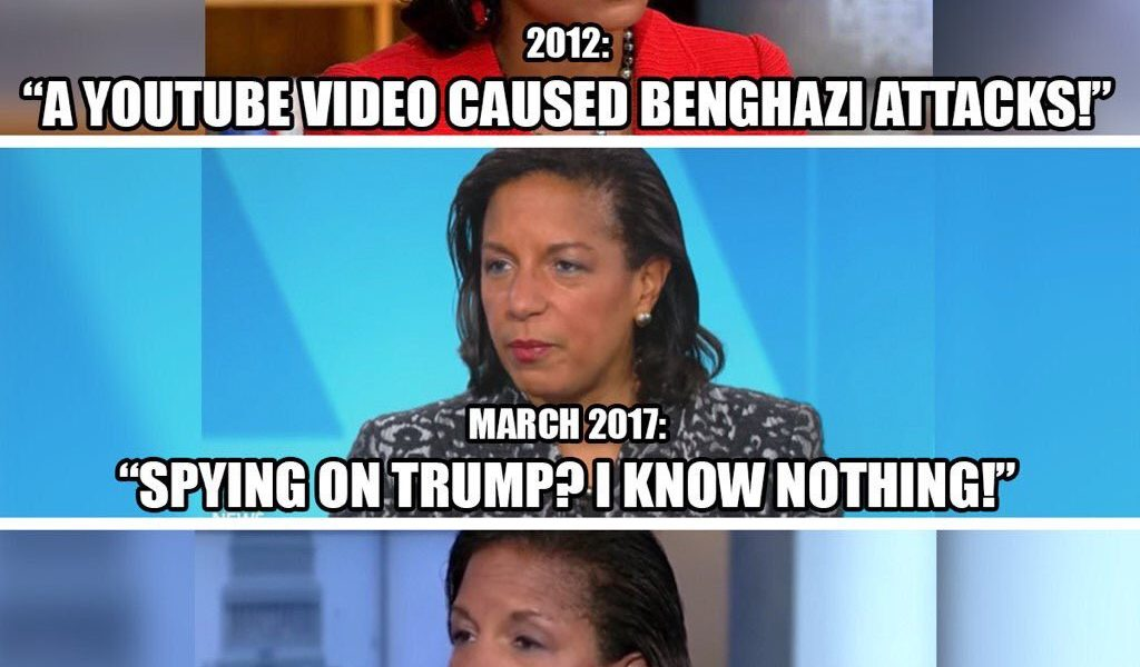 Lying Susan Rice Says We Are Under Attack From The White House