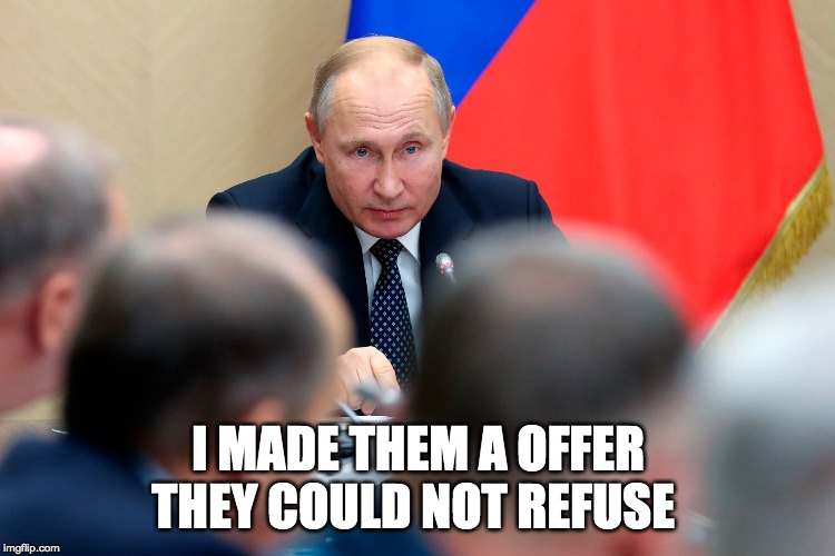 Entire Russian Government Resigns As Putin Proposes Constitutional Changes
