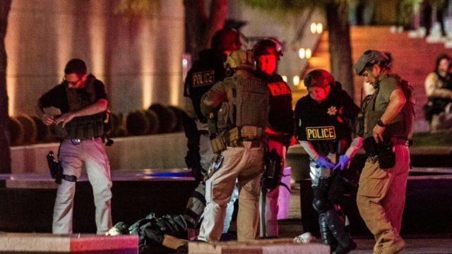 Rioter Shoots Police Officer in the Head from Behind In Las Vegas