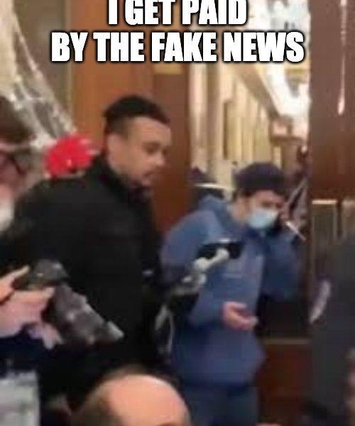 CNN, NBC, ABC Paid Antifa Activist For Footage From Capitol Breach