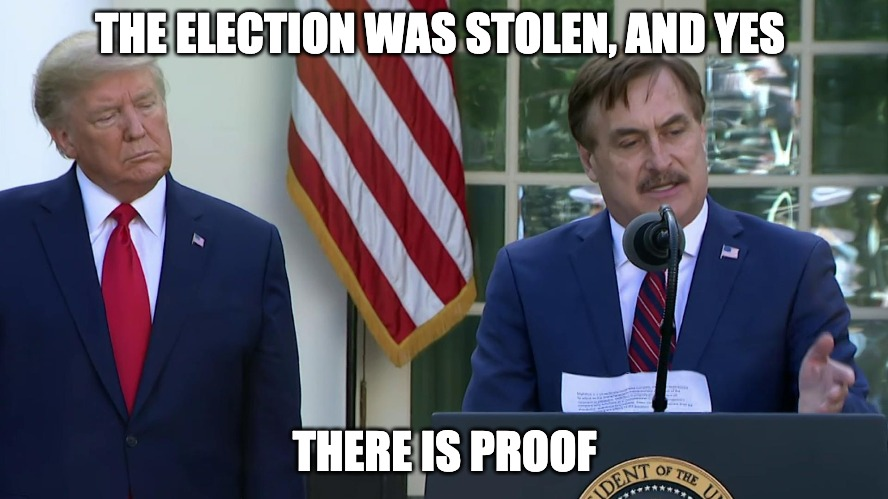 Absolute Evidence Of Voter Fraud, And Proof The Election Was Stolen