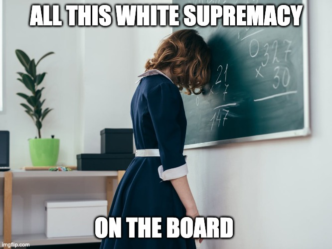 Oregon Educators Says Getting The Right Answer In Math Is White Supremacy