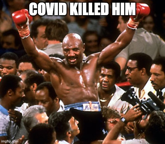 Marvin Hagler Dead At 66 And Guess What Killed Him?