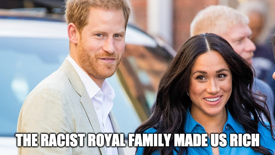 Meghan Markle And Prince Harry On Oprah Playing The Race Card