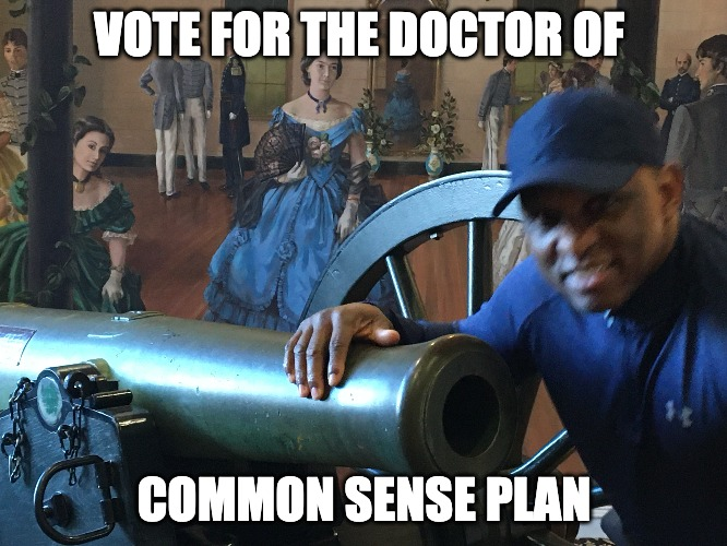The Doctor Of Common Sense Plan For The $1.9 Billion Stimulus