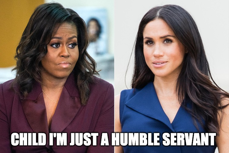 Michelle Obama Says Royal's Are Racist But Megan Should Be More Like Her